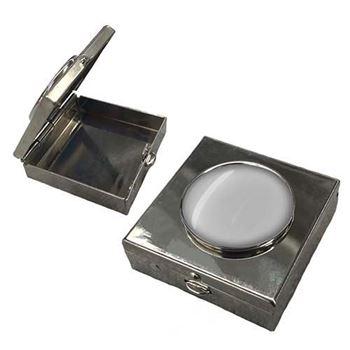 Square Metal Pill Box
