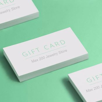 Max 200  Online Jewelry Store Gift Cards